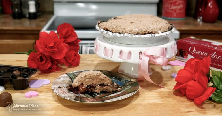 Akram's Ideas: Chocolate Covered Cherry Pie