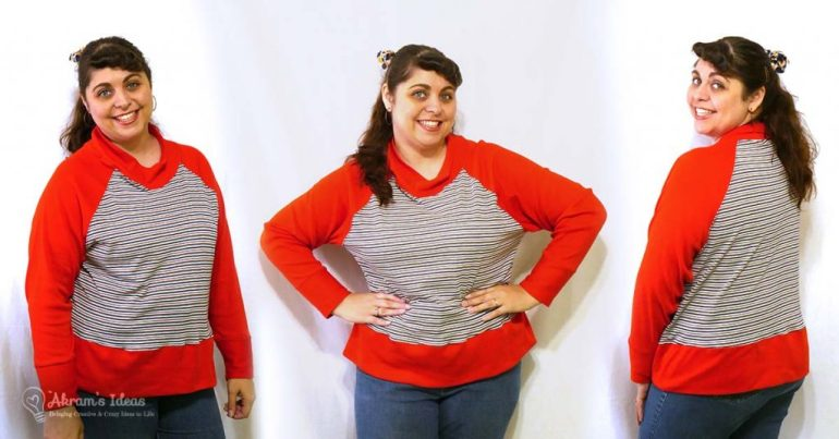 Review of my latest #makenine2018 make, the Toaster Sweater from Sew House Seven.