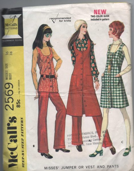 Vintage McCalls 2569