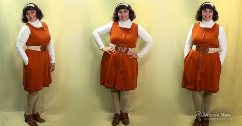 A quick pattern review for the Coco Wawa Crafts Pumpkin Dress, that I made in, what else, a pumpkin colored jersey.