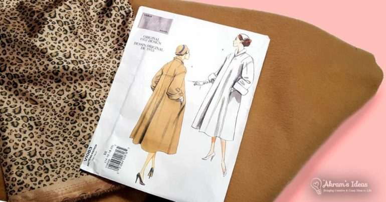 Sharing what's on the sewing table, my autumn 2018 sewing plans, which include a birthday dress, cozy cardi and vintage coat.