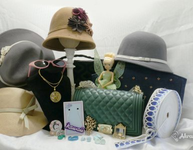 Sharing with you a look at some of my fave finds over the last few months, including vintage items and novelty jewelry.