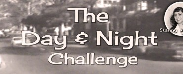 """My take on this year's Day and Night challenge hosted by Elizabeth Made This. My goal was to recreate the """"turnabout"""" bolero from the 1950's."""