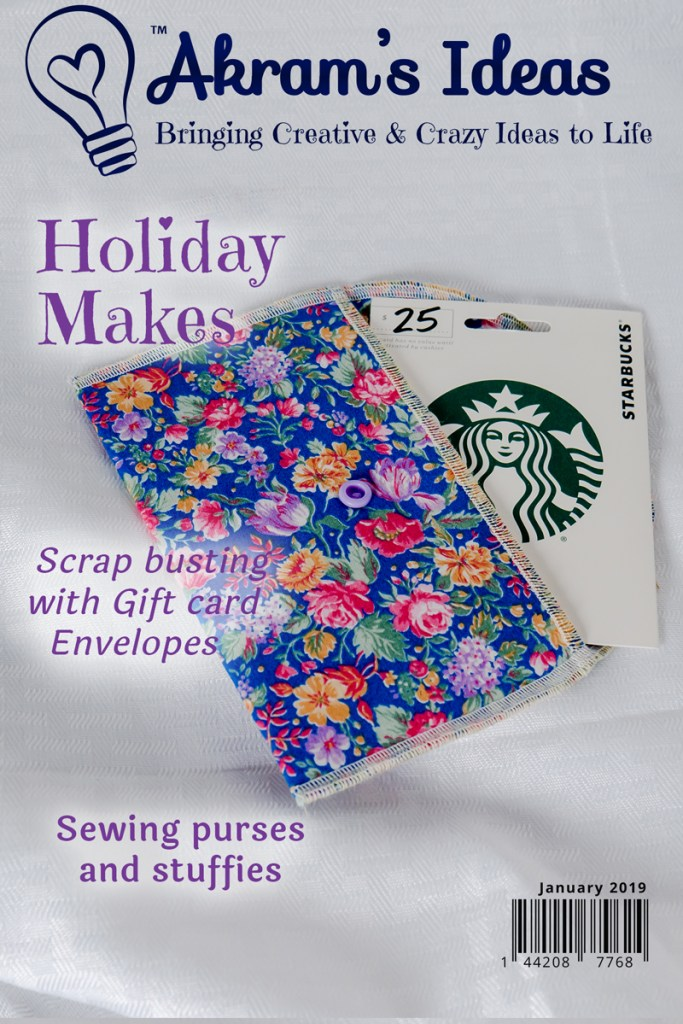 Now that the holidays are over, and I've given out all the gifts I made, I thought I'dshare with you all my holiday makes.