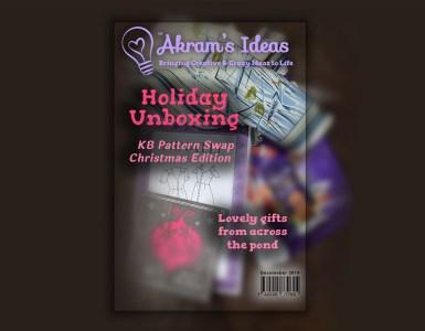Akram's Ideas: Holiday Unboxing