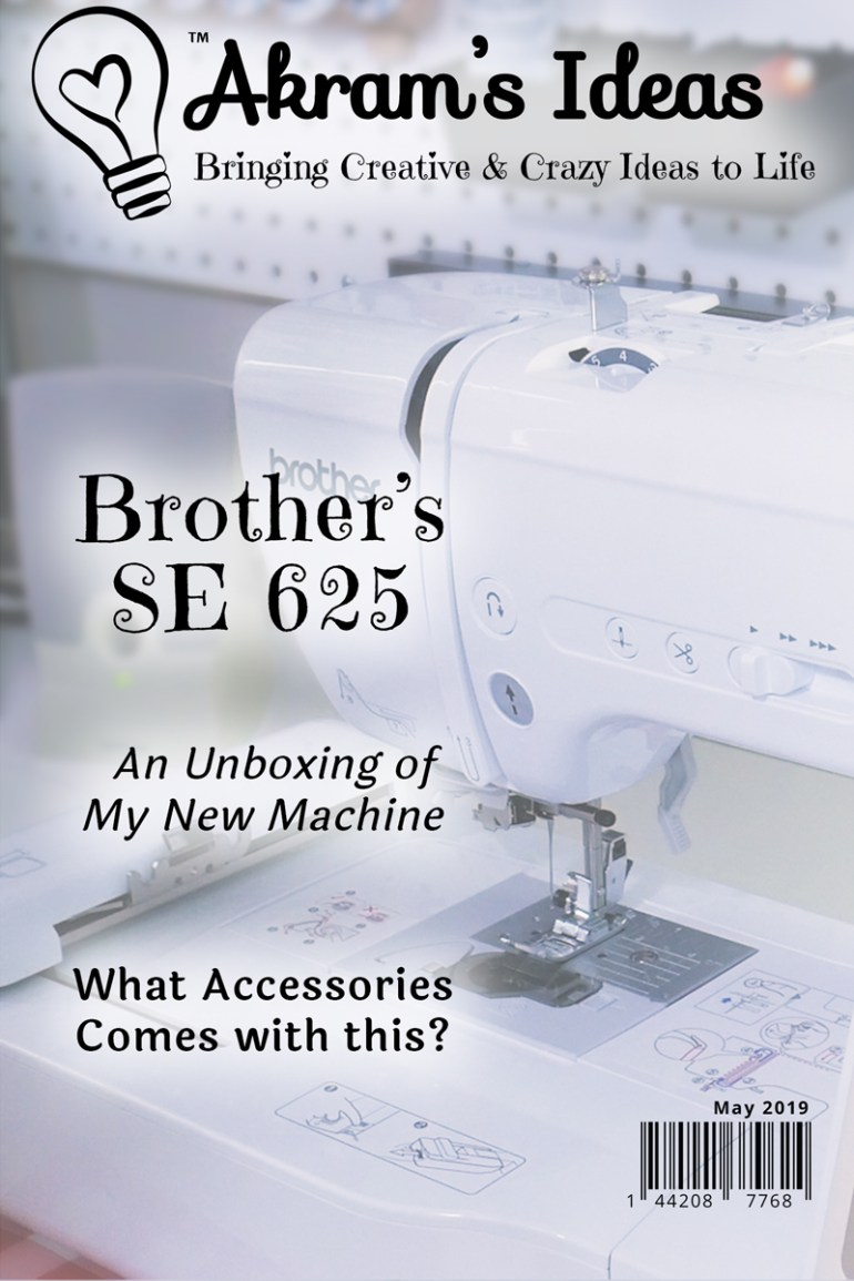 Akram's Ideas: Uboxing Brothers SE625