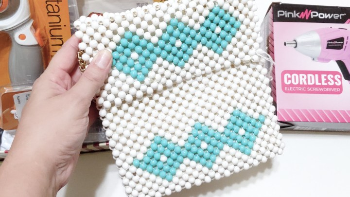 Akram's Ideas: Beaded Purse