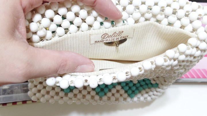 Akram's Ideas: Beaded Purse Inside