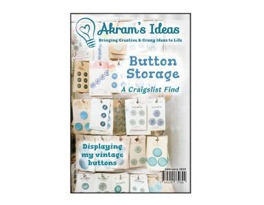 Akram's Ideas: Button Rack