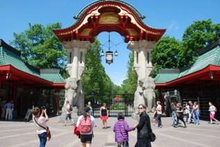 Inngangen til Zoo