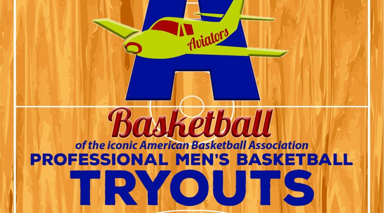 akron aviators, tryouts, men's basketball, aba,