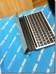 Bluetoothスタンドキーボード400-SKB033