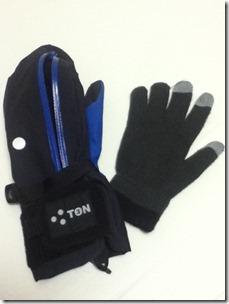 3TON+スマホ手袋