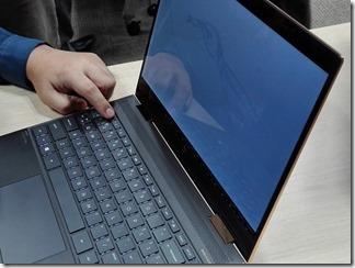 HP Spectre x360のプライバシーモード