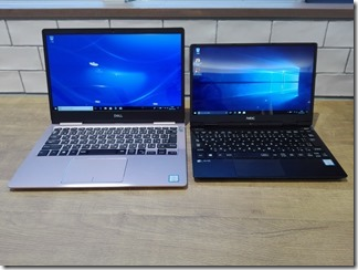 「Inspiron 13 7000」と「LAVIE Direct NM」を比較