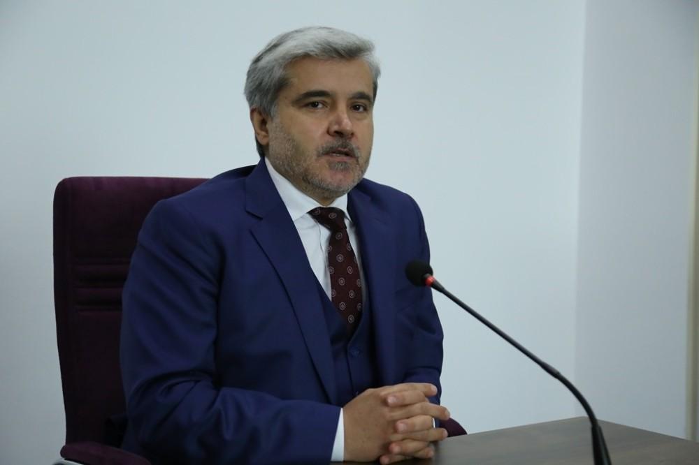 """ASÜ Rektörü Şahin: """"Tüm amacımız işleri kolaylaştırmak üzerine olmalı"""""""