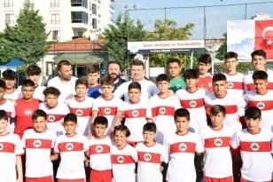 Aksaray'da yaz spor okulunun açılışı yapıydı