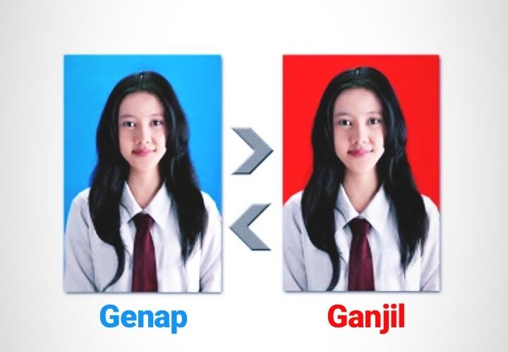 Jangan Sampai Keliru! Penjelasan Warna Latar Belakang Pas Foto,  (Merah/Biru)? | Akses News