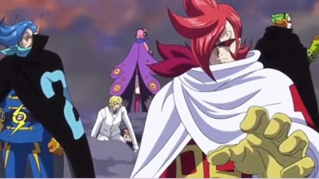 FOTO: Keluarga Vinsmoke/Germa 66, One Piece episode 872