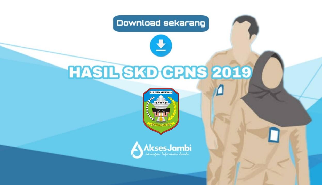 Pemkab Sarolangun Umumkan Rekapitulasi Nilai Skd Dan Peserta Skb Cpns 2019 New Normal