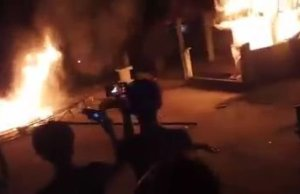 BLT' Picu Warga Desa Air Batu Lakukan Aksi Pembakaran Posko Covid-19 di Merangin
