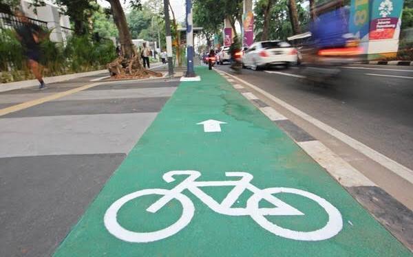 Ilustrasi jalur sepeda. Foto: Ist