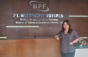 Pimpinan Cabang BPF Jambi, Erlina.