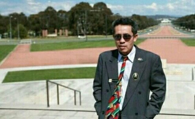 Salah satu Tokoh Pers Jambi, Mursyid Sonsang.