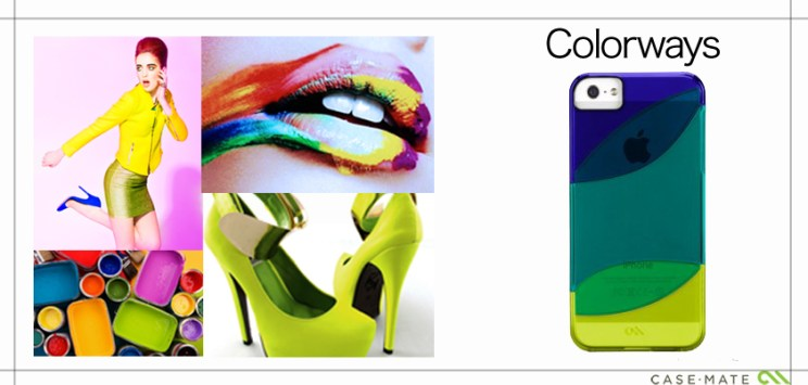 A Collage to match the style of Case-Mate Case Colorways