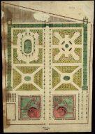 A pesti Károlyi-kert, 18. század. MNL OL T 20 – No. 101/4.