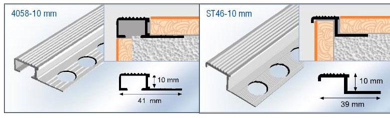 Nez De Marche D Escalier Carrelage Aluminium Antiderapant