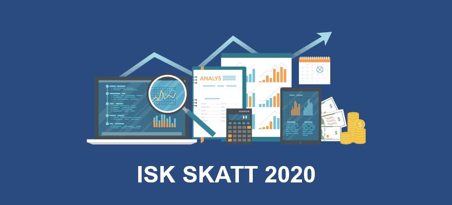ISK skatt 2020