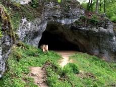 Rund um die Teufelshöhle sah es auch spannend aus