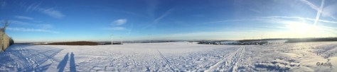 Panorama-Blick vom Goßberg