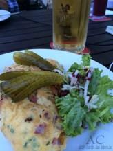 Das beste Bauernfrühstück des letzten Urlaubs gab es im Schanzenhaus.