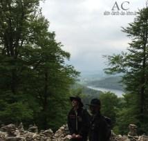 Ranger Patric Heintz und Gabriel Wern vor traumhafter Kulisse