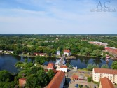 Blick auf Rathenow im Havelland