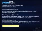 Amazon PrimeMusic auf dem Fire TV Stick