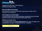 Amazon PrimeMusic auf dem Fire TV Stick