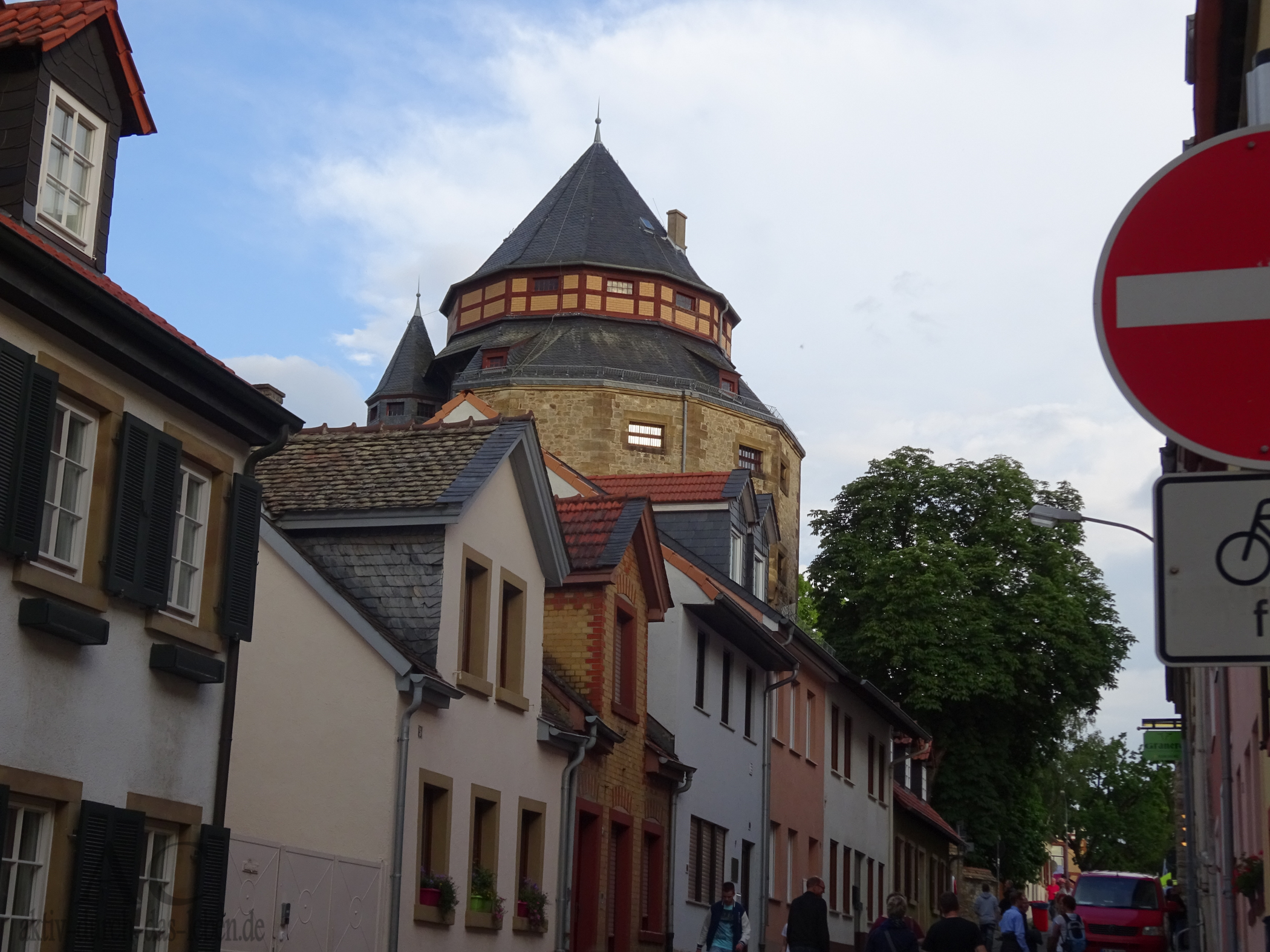 Teil des Alzeyer Schlosses