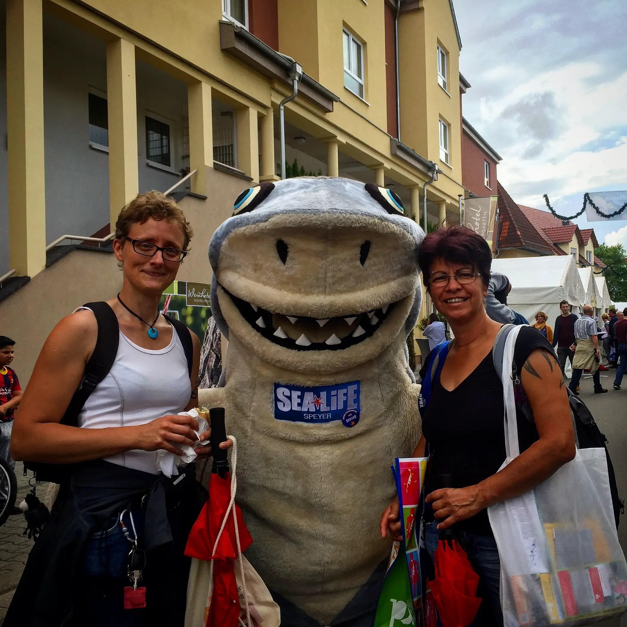 Sharky vom Sea Life Speyer