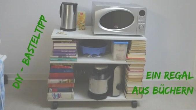 Bücherregal Aus Büchern diy regal aus büchern ein bücherregal aktiv durch das leben de
