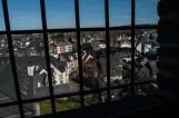 Blick hinaus auf die Stadt