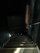 Da geht es in den Keller