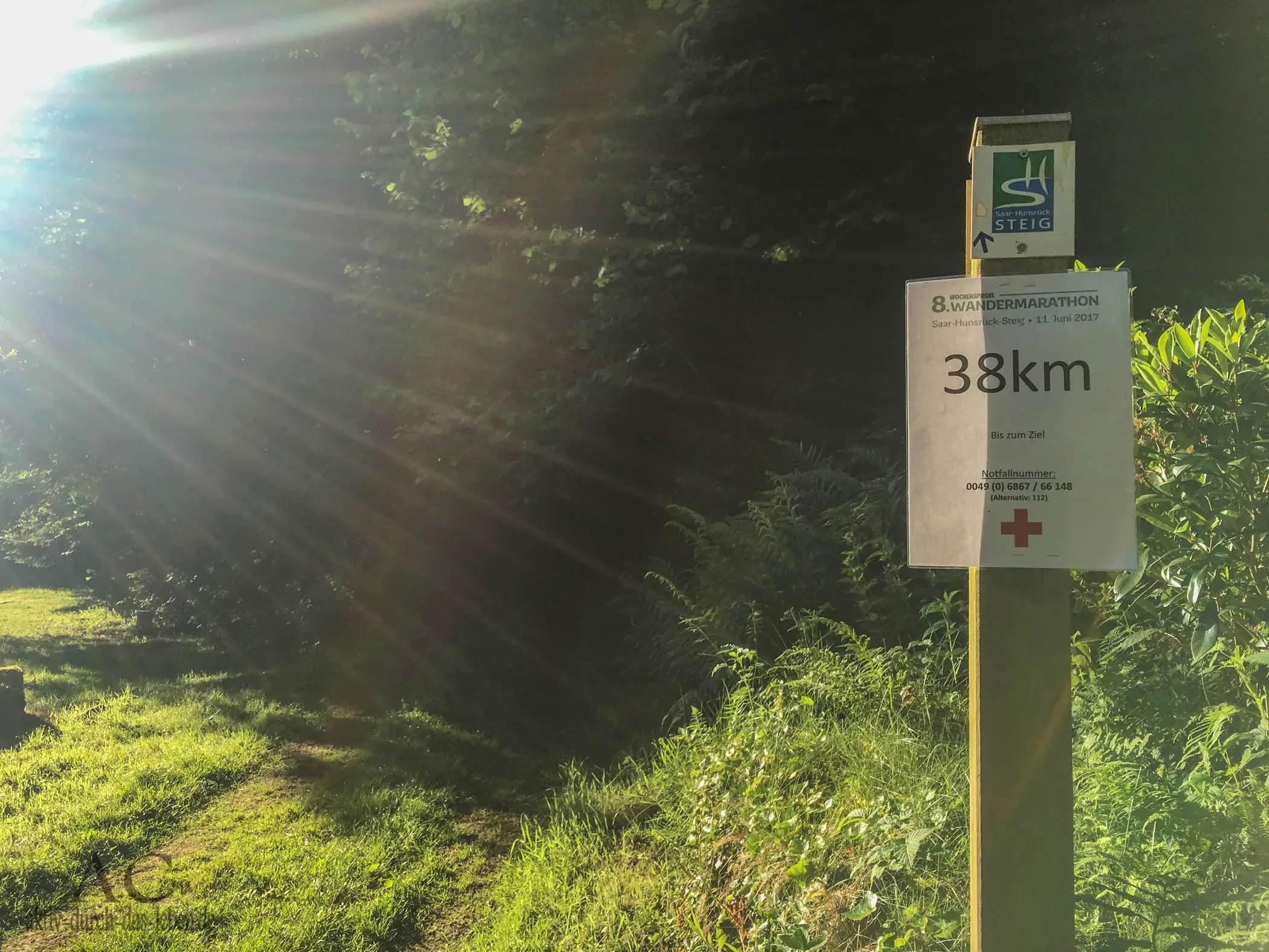 8. Wandermarathon auf dem Saar-Hunsrück-Steig – Wandern auf drei Etappen