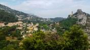 Blick auf Èze Village