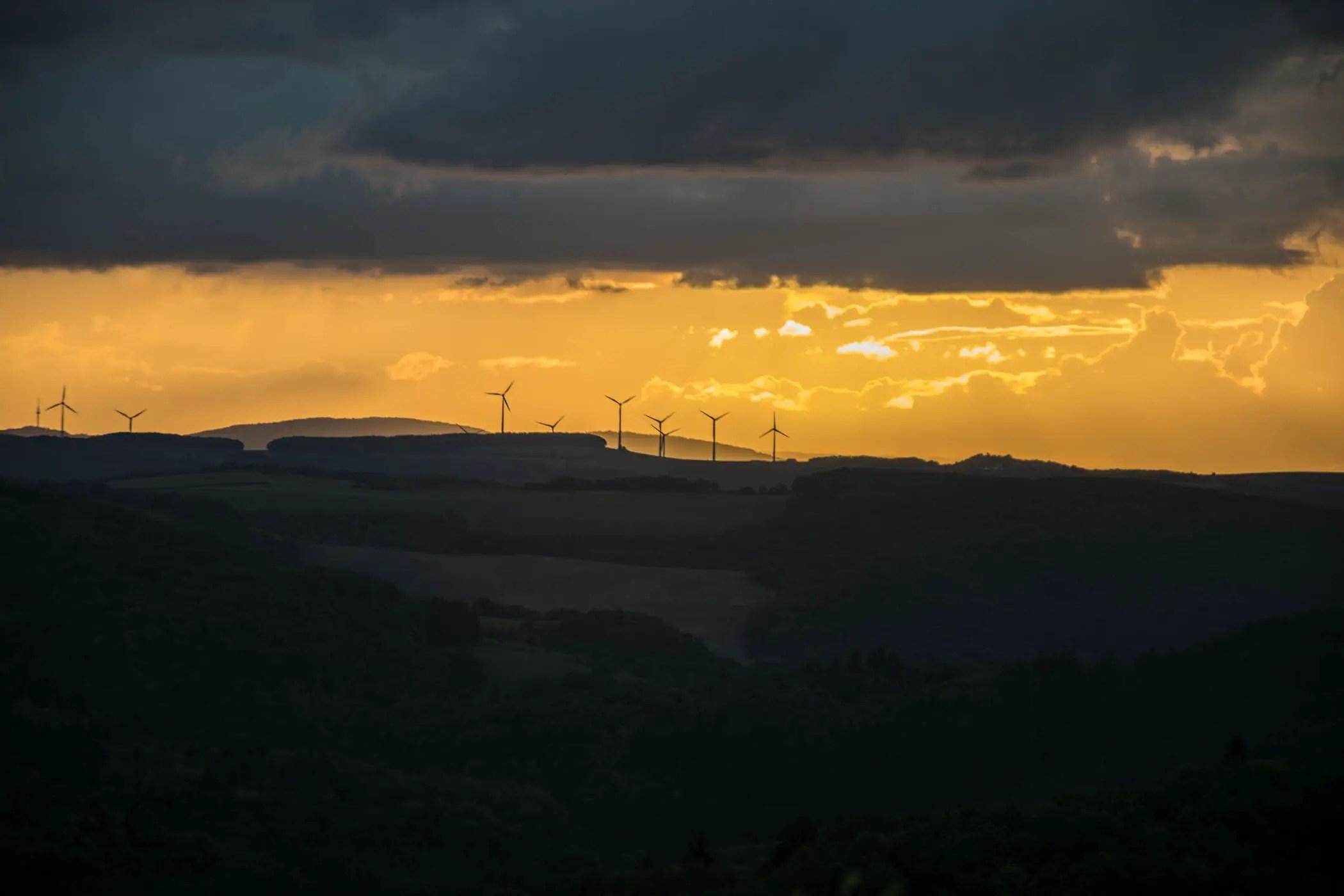 Blick von der Kupferberghütte