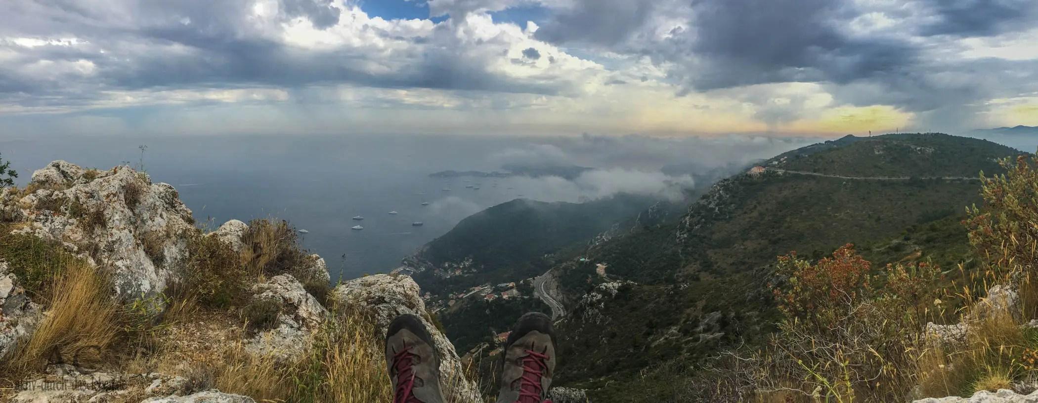 Wandern an der Côte d'Azur – Éze und Mont Bastide