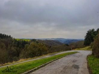Blick über das Mörsdorfer Bachtal hinweg Richtung Mosel/Eifel