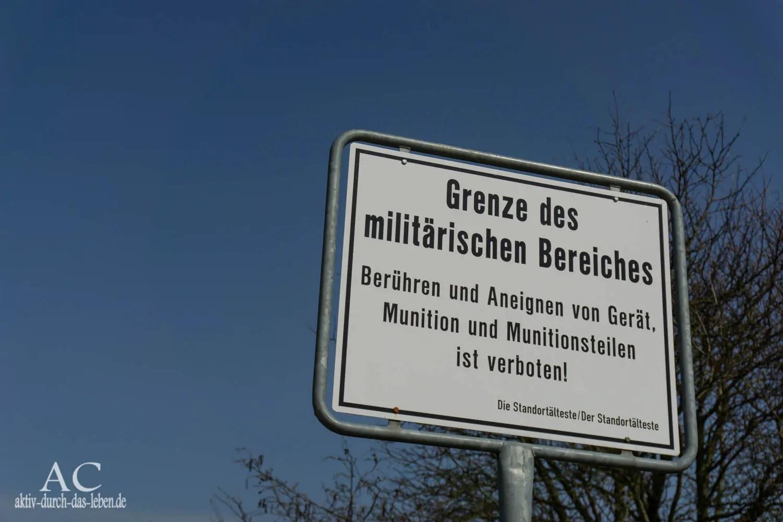 Wandern auf dem Panzerübungsplatz – das NABU Naturschutzgebiet Schmidtenhöhe